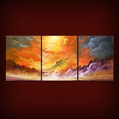 large painting art abstract painting impressionist by mattsart