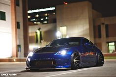 The Nissan was designed from scratch to be an overtly sporting revival of the Z-car bloodline, so you could argue that creating a sta. Nissan Z Cars, Nissan 350z, Tuner Cars, Jdm Cars, Snk Cosplay, Because Race Car, Custom Muscle Cars, Street Racing Cars, Forged Wheels