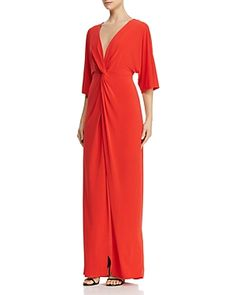 de5c9b18286 LAUNDRY BY SHELLI SEGAL LAUNDRY BY SHELLI SEGAL TWIST-FRONT KIMONO-SLEEVE  GOWN.  laundrybyshellisegal  cloth