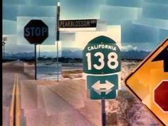 """""""Photographs: Pearblossom Hwy by David Hockney       Where do artists get their ideas?   What is perspective?   How can photography be like drawing or painting?        David Hockney touches on these and other issues while discussing the making of his photographic collage Pearblossom Hwy in this video. """""""