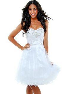 White Tulle Sweet Dress