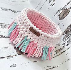 Crochet basket 855050679235855645 - New Crochet Patterns Basket Storage Yarns Ideas Source by Mode Crochet, Crochet Yarn, Knitting Yarn, Crochet Gifts, Doilies Crochet, Crochet Bowl, Crochet Basket Pattern, Crochet Jewelry Patterns, Crochet Designs