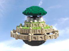 Laputa - Castle in the Sky (by Ochre Jelly)