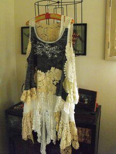 Magnolia Pearl Layering Cream OSFM Tunic/Dress