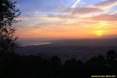 Coucher de soleil sur Nice (06)