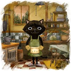 The Kitchen Cat!