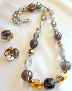 Vintage Necklace and Earring Set From Vogue by VJSEJewelsofhope, $30.00