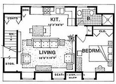 Garage plan 99939 plan with 1032 sq ft 2 bedrooms 2 for Ultimate garage plans