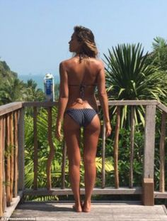 Super fit: Alba recently returned from Thailand where she was filming action-thriller Mech...