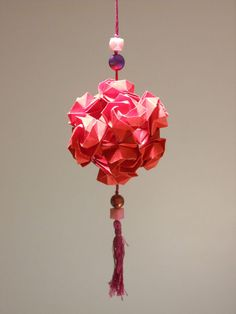 valentine origami flowers
