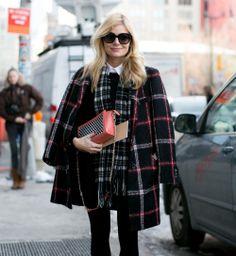 Le carreau, beau look de la Fashion Week automne hiver 2014-2015 - Cosmopolitan.fr