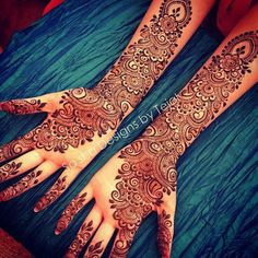 A beautiful inspiring henna design! Mehndi artist unknown so please if you come across this image and you are or you know the artist please comment below and I will add it to the description! Latest Arabic Mehndi Designs, Full Hand Mehndi Designs, Indian Mehndi Designs, Modern Mehndi Designs, Mehndi Design Pictures, Beautiful Henna Designs, Wedding Mehndi Designs, Mehndi Images, Mehandi Designs