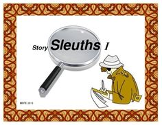 STORY SLEUTHS I is a 4 week, critical thinking project based on Caldecott Award winning books. $3 Library Skills, Library Lessons, Reading Lessons, Teaching Reading, Library Ideas, Guided Reading, Reading Response Notebook, Teaching Language Arts, Classroom Language
