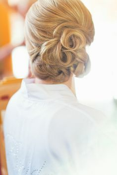 #hairstyles  Photography: Adonye Jaja - www.adonyejaja.com  Read More: http://www.stylemepretty.com/2014/07/01/whimsical-colorado-mountain-wedding/