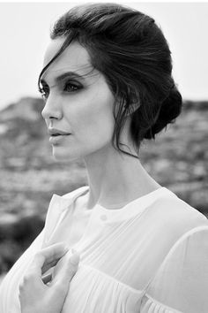 "senyahearts: ""Angelina Jolie for DuJour Magazine, Winter 2014 Photographed by: Francesco Carrozzini """