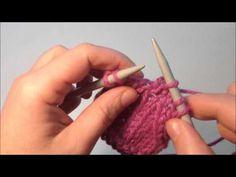Πλέξιμο: Διπλές μειώσεις - Double decreases Knitting Videos, Knitting Stitches, Knitting Patterns, Knitted Blankets, Fingerless Gloves, Arm Warmers, Free Pattern, Knit Crochet, Crafts
