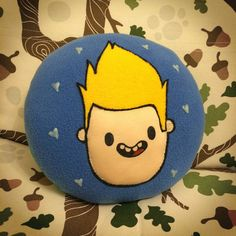 Bravest Warriors Chris and Beth pillow by WeezLovesYou
