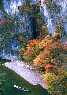 Geibi-kei, Ichinoseki, Iwate  猊鼻渓