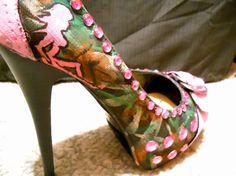 I want camo heels