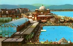 "Rhyl - Spent many a happy hour in Rhyl's outdoor swimming pool - ""The Baths"" Wales Uk, North Wales, Outdoor Swimming Pool, Swimming Pools, How Did It Go, Bangor, Local History, Places Of Interest, Old Photos"
