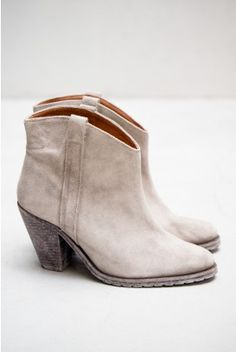 Humanoid Cross Suede Bootie — Dust