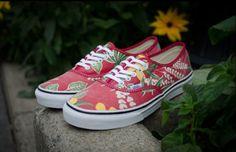 Vans Hawaiian print classic shoe - I had these a long, long time ago...