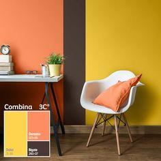 88 veces he visto estas estupendas cocinas colores. Bedroom Wall Designs, Bedroom Wall Colors, Paint Colors For Living Room, Room Colors, Living Room Decor, Yellow Home Decor, Diy Home Decor, Bedroom Color Combination, Living Room Orange