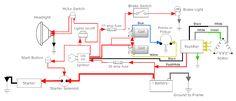 HONDA CB350 SIMPLE WIRING DIAGRAM - Google Search | USEFUL ...