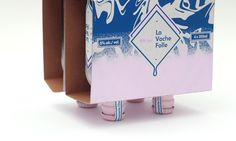 La Vache Folle - Milk Stout packaging by Olivier Charland, via Behance