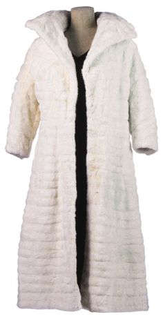 Marilyn Monroe's white ermine fur coat.