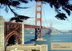Golden Gate Bridge San Francisco, CA #Travel #Tour #Globus #GoldenGate #California