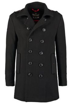 BRIDGE - Manteau court - black
