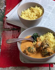 The four healthiest curry recipes mens health recipes fluffy spinach koftas in a creamy tomato curry recipe from i love curry by anjum anand forumfinder Image collections
