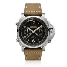 PANERAI LUMINOR 1950 PCYC REGATTA 3 DAYS CHRONO FLYBACK AUTOMATIC TITANIO