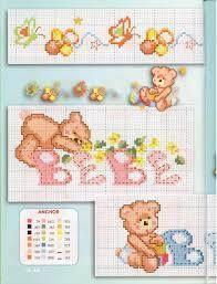 Cross Stitch Teddy Bears Orsetti Punto Croce