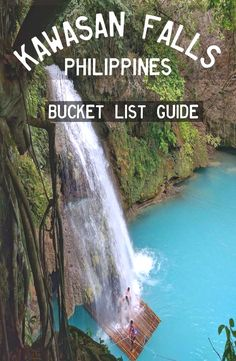Kawasan Falls – Badian, Philippines  Philippines Vacation  Access the Site for information   https://storelatina.com/philippines/travelling  #amaFhilippines #recipes #Fîlîpîn #Pilipinas