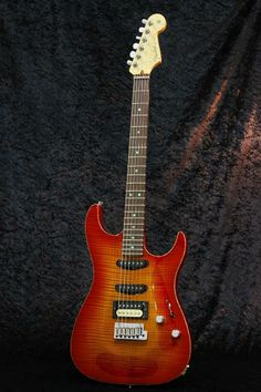 Fender Custom Shop Showmaster N.O.S. Cherry Sunburst Built By Greg Fessler