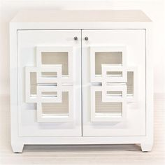 Nash+White+Lacquer+Cabinet++by+Worlds+Away+on+HomePortfolio