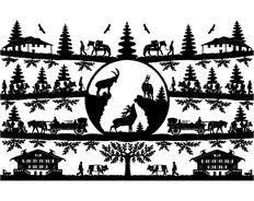 decoupages suisse - Recherche Google Books Art, Adelboden, Decoupage, Paper Art, Paper Crafts, Fiddler On The Roof, Silhouette Curio, Recherche Google, Creative Inspiration
