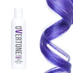 """oVertone on Instagram: """"Extreme Purple Daily Conditioner Strand ..."""
