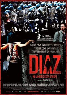 #Estrenos de la cartelera de cine española del 10 de Mayo de 2013. #DíazNoLimpiéisEstaSangre Pincha en el cartel para ver el tráiler