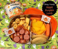 Lunch Made Easy: Happy Pumpkin School Lunch Fun School Lunchbox Ideas for Kids