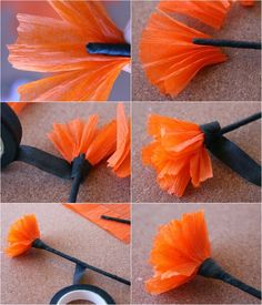 for Last Minut. for Last Minut… – diy roupas -diy roupas customizao Click amp; for Last Minut. for Last Minut… – diy roupas - Day Of The Dead Diy, Day Of The Dead Party, Diy Crafts To Do, Arts And Crafts, Upcycle Home, Marigold Flower, Maquillage Halloween, Painted Paper, Halloween Crafts