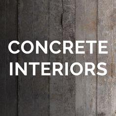 Concrete Interiors, Home Decor, Decoration Home, Room Decor, Interior Decorating