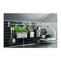 19,99 PLN GRUNDTAL Pojemnik na sztućce IKEA Na blacie jest więcej miejsca, a przybory kuchenne są pod ręką.