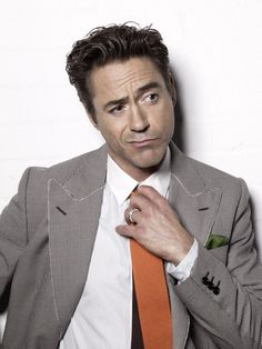 Robert Downey Jr. * Actor who broke into a stranger's house thinking it was his own and fell asleep. lol, total boss move