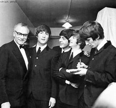 Laurence Olivier and The Beatles