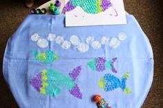 Rybek malowanie... farby do tkanin Textile Art Nerchau