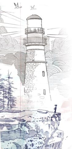 Lighthouse life is strange on my leg/ankle Life Is Strange Wallpaper, Life Is Strange Fanart, Life Is Strange 3, Strange Quotes, Strange Art, Lighthouse Drawing, Arcadia Bay, Weird Tattoos, Beauty Illustration