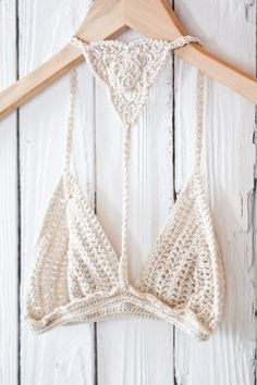 Bare it all crochet bralette $49.99 - www.imnotyourtype.com